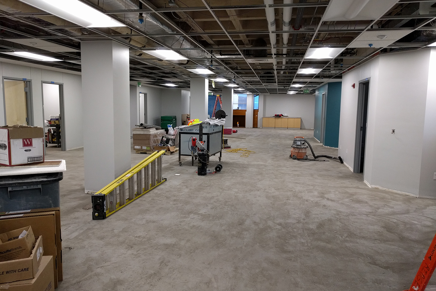 April 2018 - Ground Floor Paterno Construction