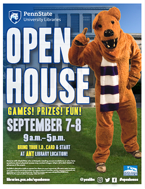 Open House Flyer Graphic