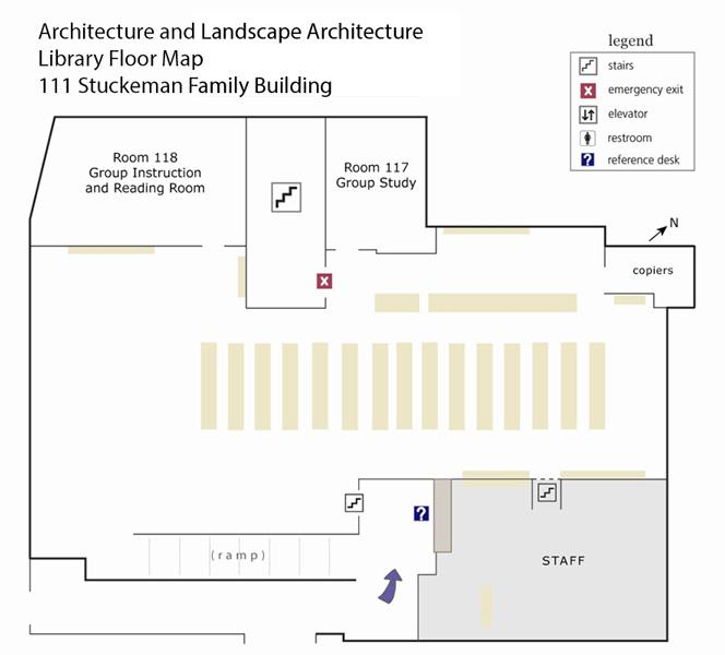 Architecture and Landscape Architecture floorplan