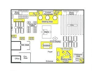 Fayette Library Floorplan