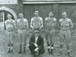 Early football team