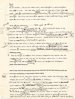 Mills writing - 3