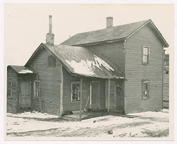 Miner's home