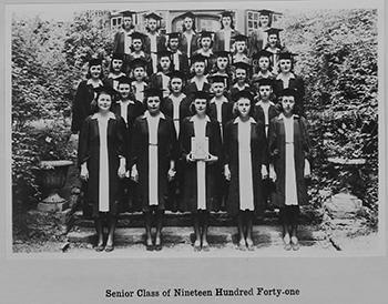 Ogontz School Senior Class of 1940