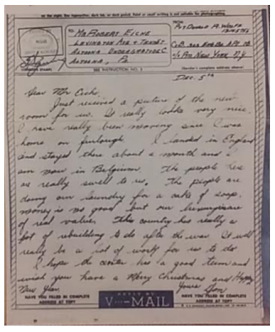 image - WWII letter