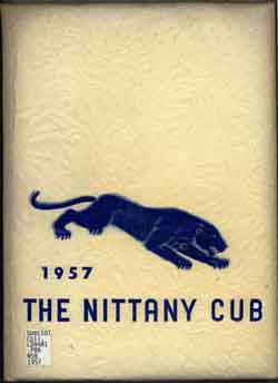 York Campus Yearbook Cover 1957