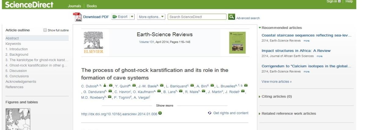 Elsevier link.
