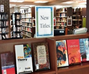 New books and films available at the Fayette Campus Library.