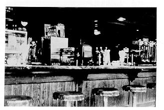 The Corner Room lunch counter