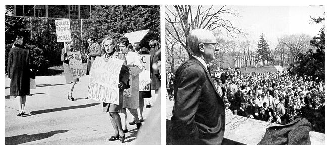 student protests 1966