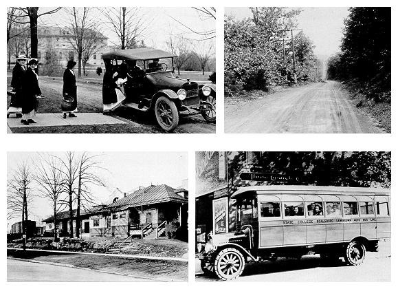four old photgraphs circa 1920s state college area