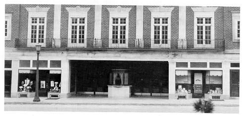 old black and white photograph of Cathaum Theatre facade