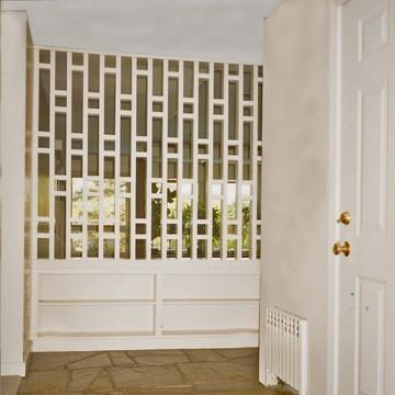 Interior Lattice Room Divider
