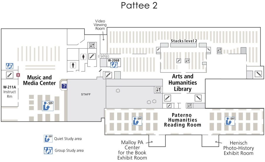 Layout - Pattee 2nd Floor