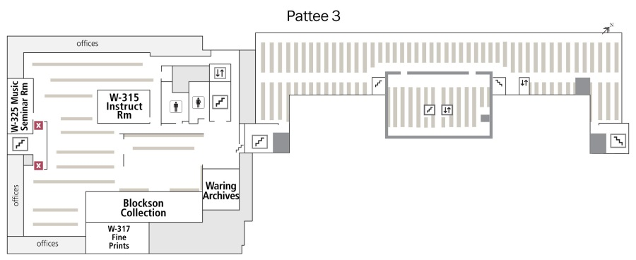 Layout - Pattee 3rd floor