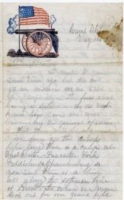 Letter from James T. Stuart