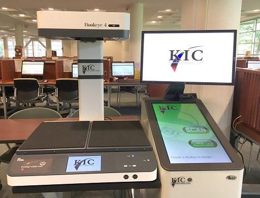KIC Bookeye 4 scanner