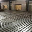 December 2018 - Pattee Library Interior Courtyard Prep for 2nd Floor Concrete Pour