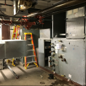 December 2018 - Pattee Library Interior Courtyard Air Handler (located on roof of West Pattee)