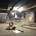 December 2018 - Pattee Library Interior Courtyard Air Handler Demolition