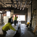 January 2019 - Pattee Library Interior Courtyard Air Handler Demolition