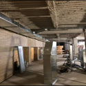 January 2019 - Pattee Library Interior Courtyard 3rd Floor Rough-In