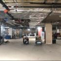 January 2019 - Ground Floor West Pattee Mechanical, Electrical and Plumbing Progress