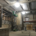 January 2019 - Pattee Library Interior Courtyard Fire Proofing