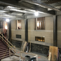 March 2019 - Pattee Library Interior Courtyard Overview
