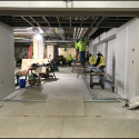 March 2019 - Ground Floor West Pattee Drywall and Rough-In