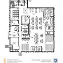 Hazleton Library new floor plan - lower level