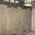 March 2019 - Pattee Library Interior Courtyard Ceramic Tile Installation