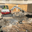 April 2019 - West Pattee Terrace Demolition of Existing Concrete