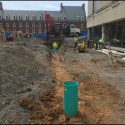 April 2019 - West Pattee Terrace Storm Pipe Draining