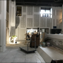 May 2019 - Pattee Library Interior Courtyard Dry Wall Finishing Work