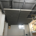 June 2019 - Pattee Library Interior Courtyard Baffle Ceiling Installed
