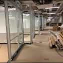 May 2019 - Ground Floor West Pattee Group Study Room Partitions Installed