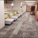 July 2019 - Pattee Library Interior Courtyard Corridor Furniture