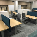 July 2019 - Pattee Library Interior Courtyard 3rd Floor Infill Office Furniture