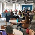 August 2019 - Ground Floor West Pattee Collaboration Commons - 1st Day of Fall 2019 Semester