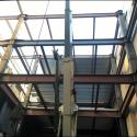 Interior Courtyard Steel Erection #2
