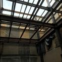 Interior Courtyard Completed Steel Erection