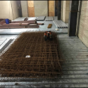 Interior Courtyard Preparation for Concrete Pour of Infill Floors