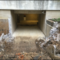 May 2018 - Pattee Library Interior Courtyard Demolition of Stairs and Walls