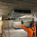 Ground Floor West Pattee Hanging Ducts
