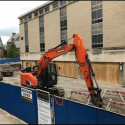 May 2018 - West Pattee Ground Floor Terrace Demolition and Site Gravel Laydown
